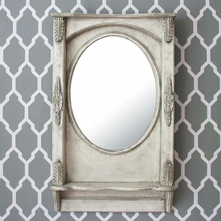 original disño espejo estilo retro