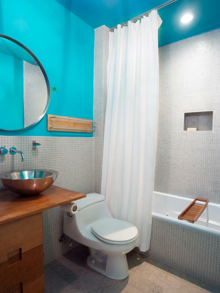 baos color azul turquesabaos de color los tonos ideales para el cuarto de bao _ baos color azul turquesa - Baos De Color