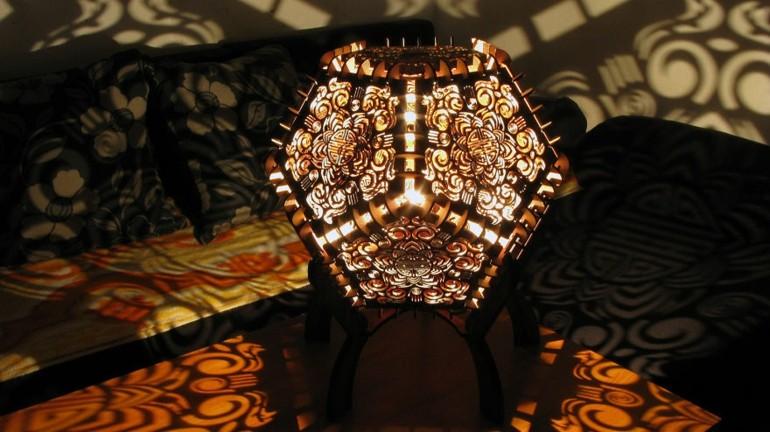 original diseño lampara sombras