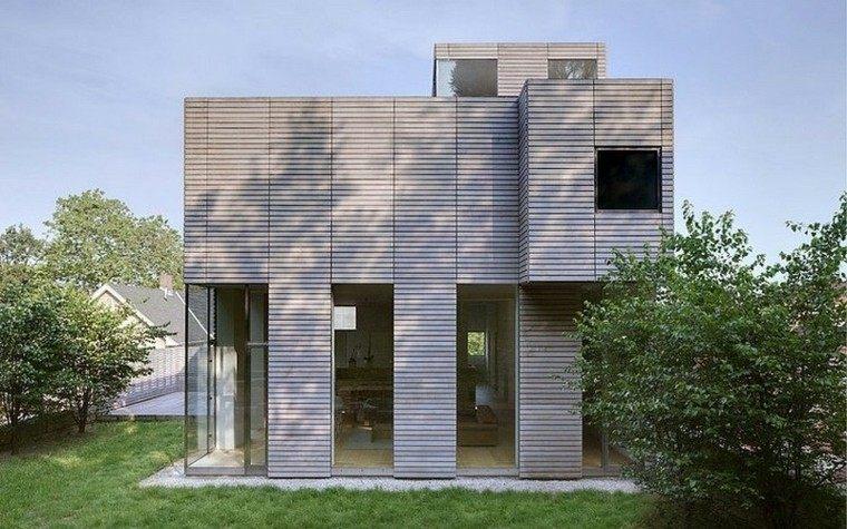 Fachadas modernas de estilo contempor neo - Fachadas edificios modernos ...