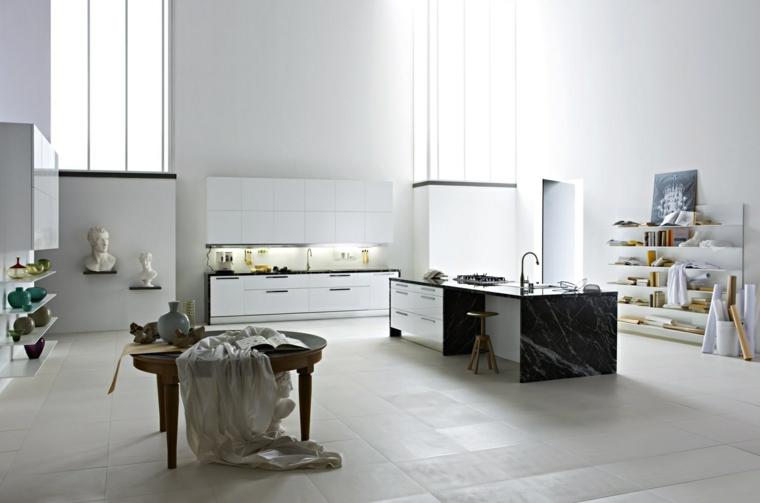 original diseño cocina espaciosa moderna