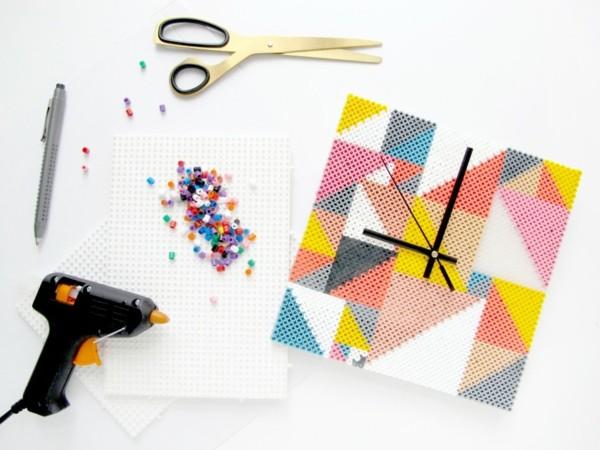 original reloj piezas lego colores