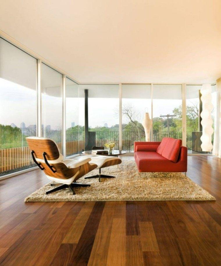 original salon moderno suelo madera