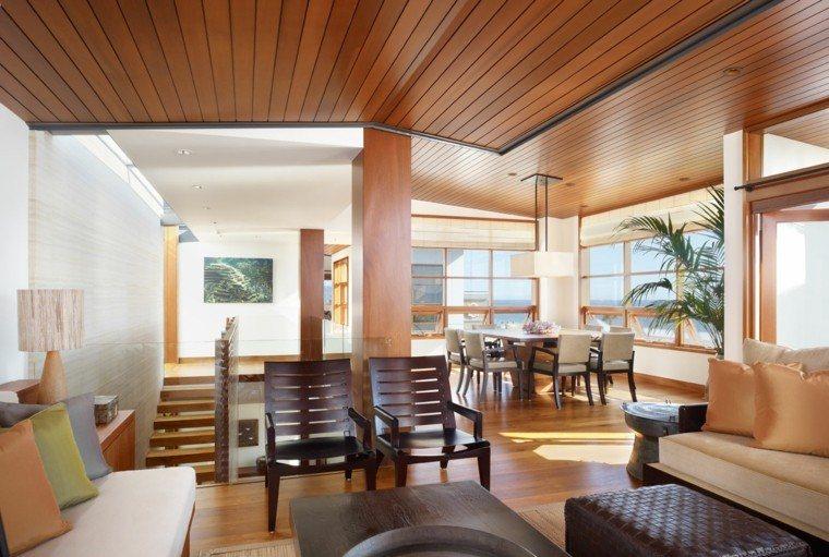 original salon todo madera muebles