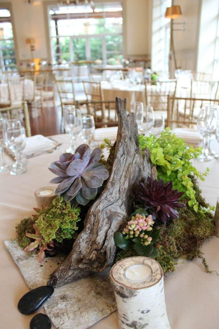 original centro mesa estilo rustico