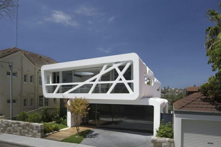 original diseño fachada banca arquitectura
