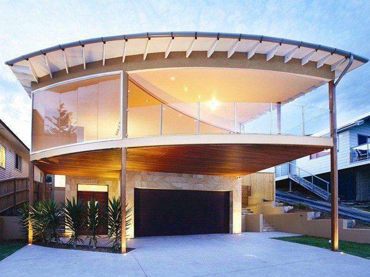 original diseño fachadas redondas