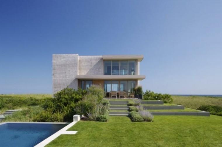 Fachadas modernas de estilo contempor neo Disenos de casas contemporaneas pequenas