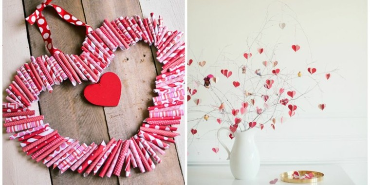 Decoracion san valentin ideas que enamoran for Decoracion para pared san valentin