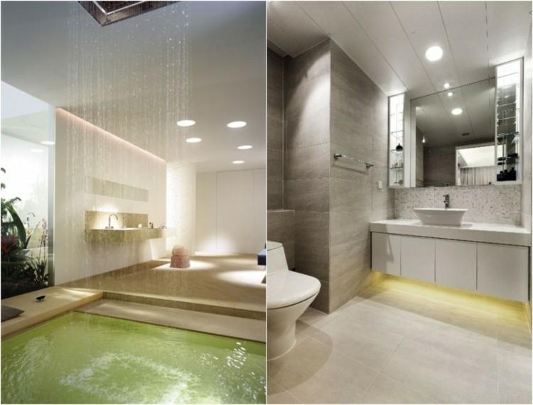 originales diseños cuartos baños modernos