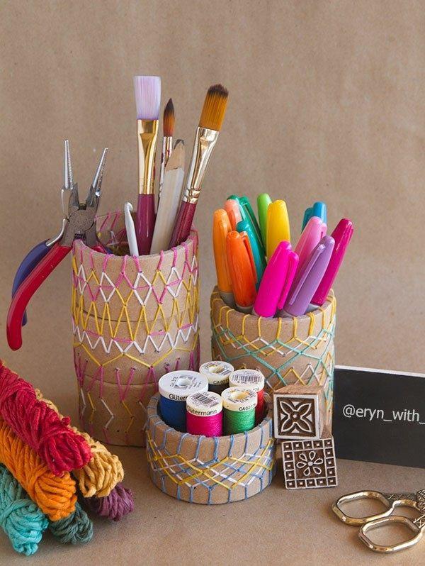 originales diseños lapiceros bordados colores