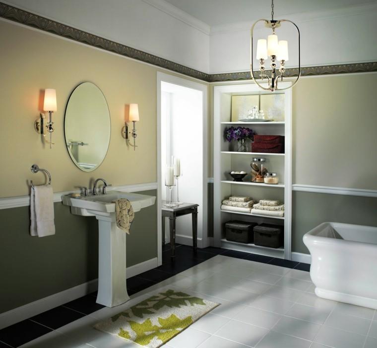 oroginal diseño cuarto baño diseño retro