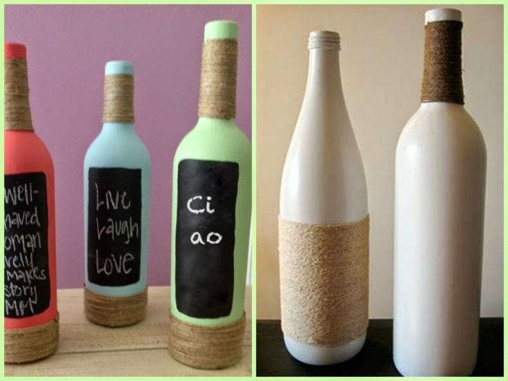 oroginales diseños decoración botellas
