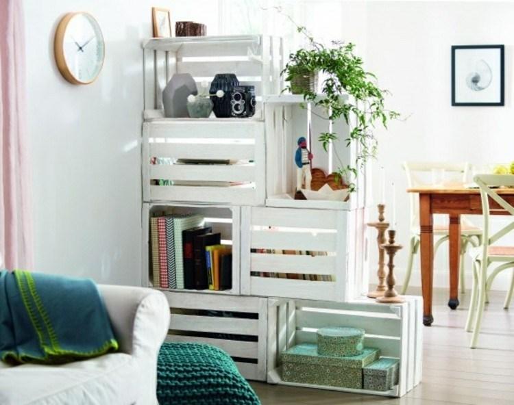 palets mobiliario creativo cojines plantas