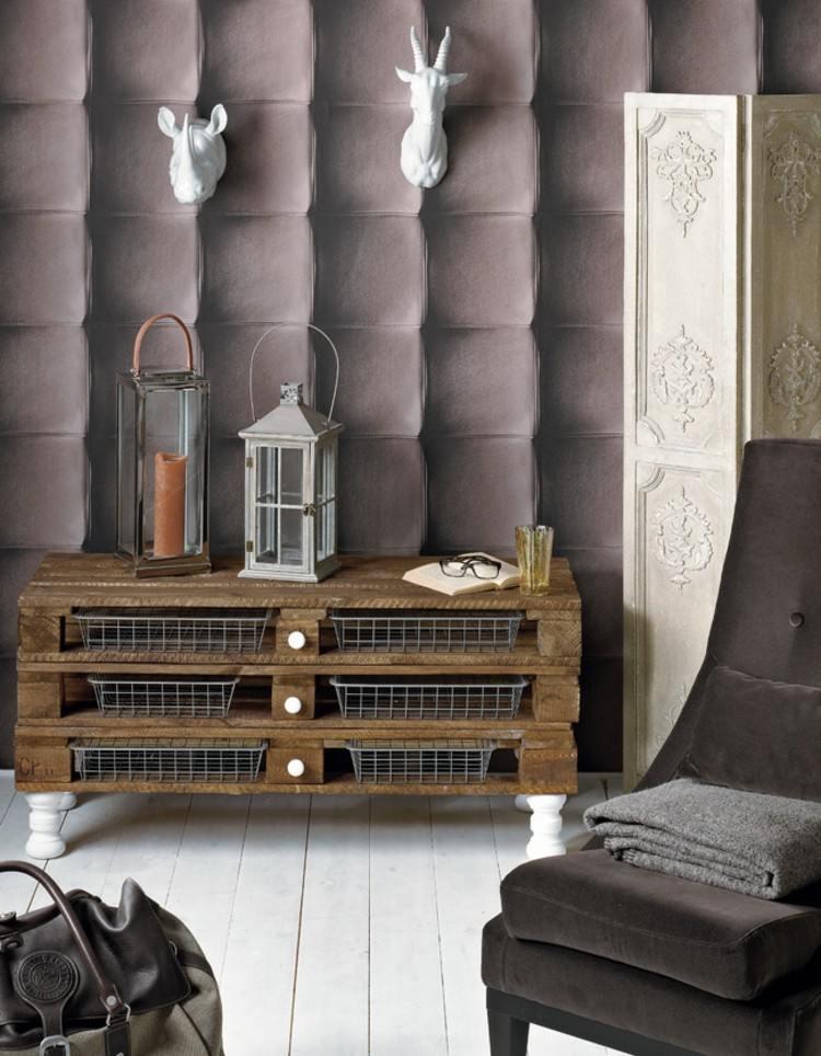 palets mobiliario creativo ideas gaveteros