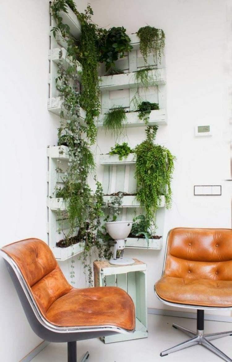 palets mobiliario creativo sillones jardines