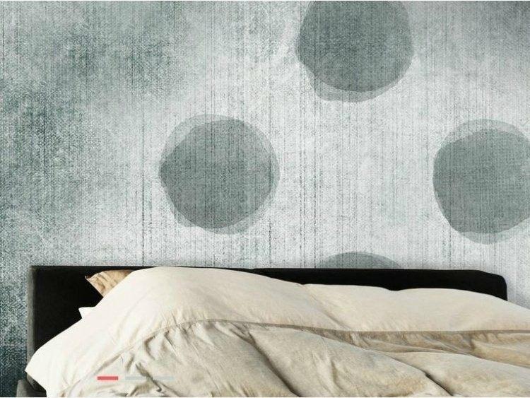 papel de pared diseño cojines texturas bolas