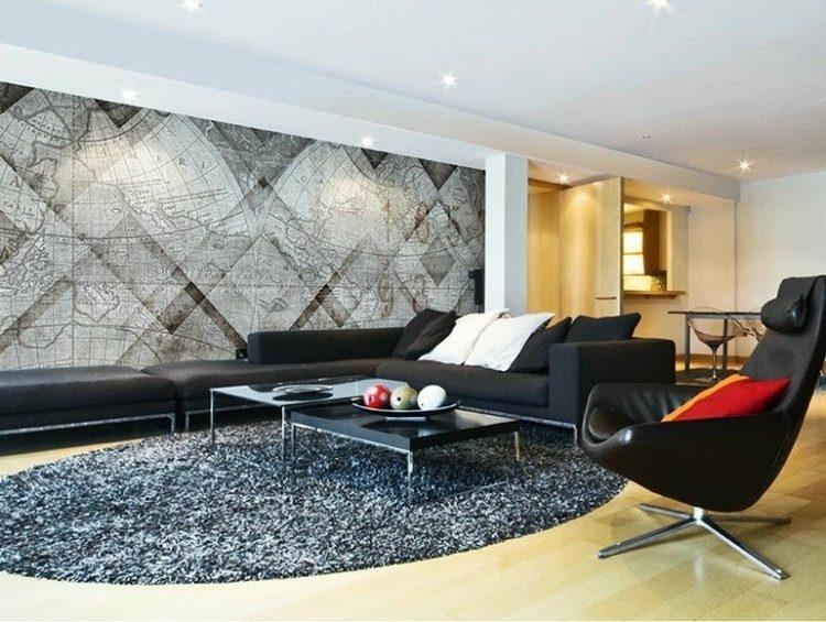 papel de pared diseño estilos creaciones alfombras