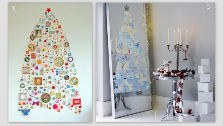 papeles arboles navidad soluciones espejo