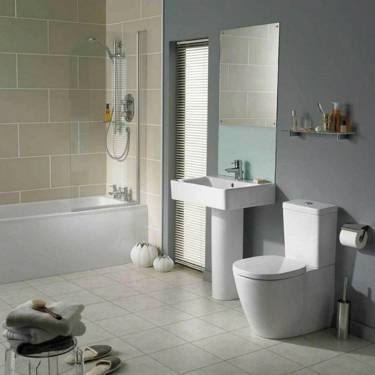 Ba os de color los tonos ideales para el cuarto de ba o for Decorar lavaderos pequenos