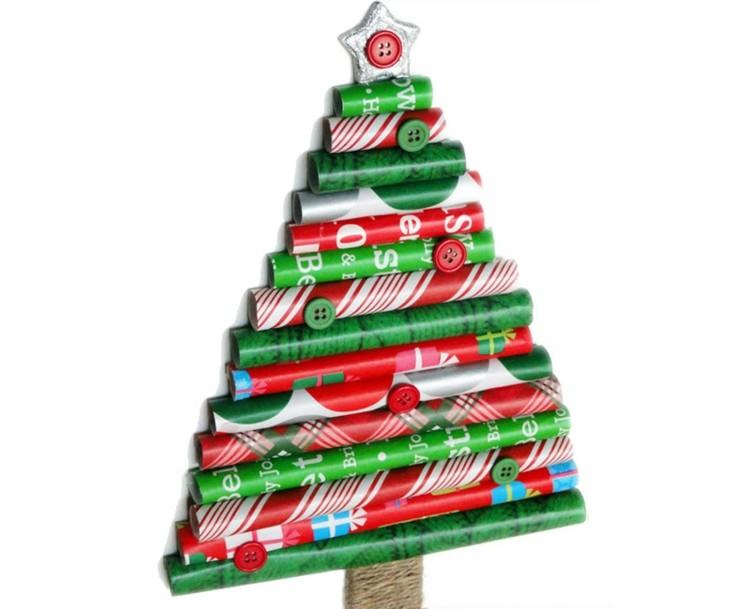 paredes arboles navidad soluciones estrella
