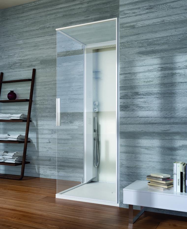 Ba os de color los tonos ideales para el cuarto de ba o for Pisos y paredes para banos modernos