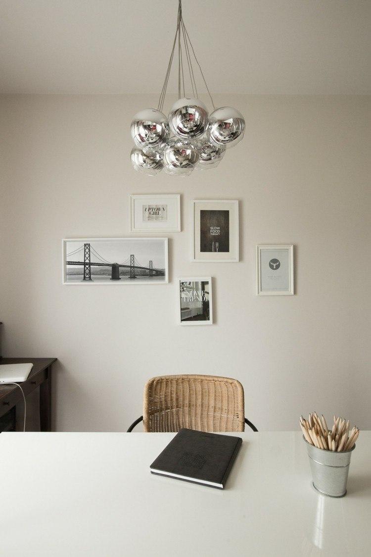 paredes claro estilos diseños plateados diseño
