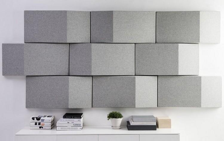 paredes ideas decorado grises bloques plantas