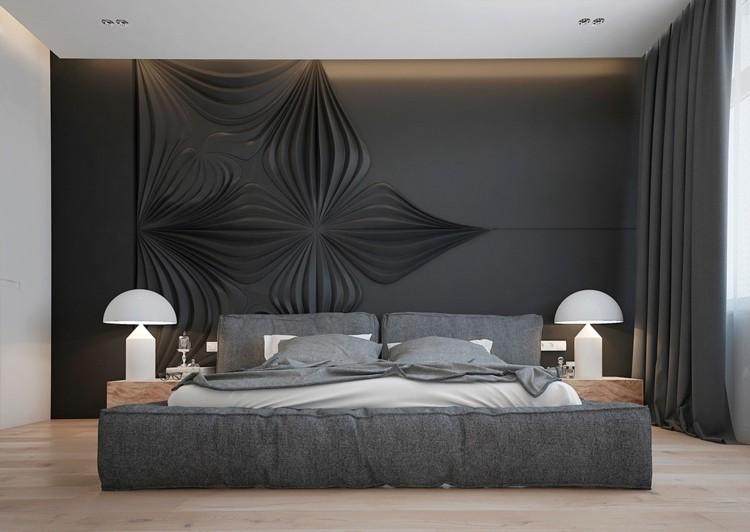 paredes ideas decorado grises elegante
