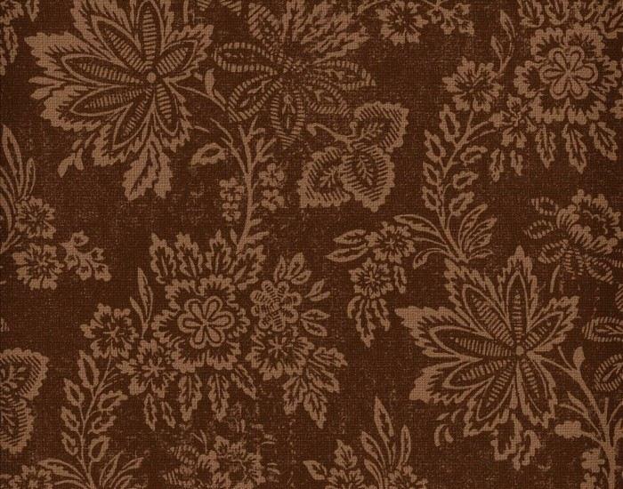 patrones flores decorado ideas marrones