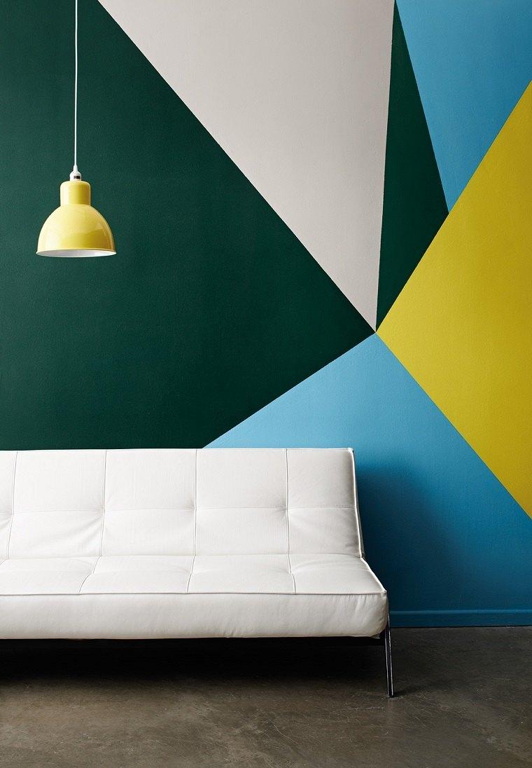 patrones-geometricos-decorar-pared-colores