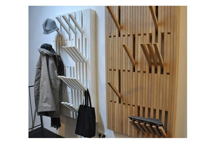 Percheros originales funcionales y decorativos 38 modelos - Percheros pared diseno ...