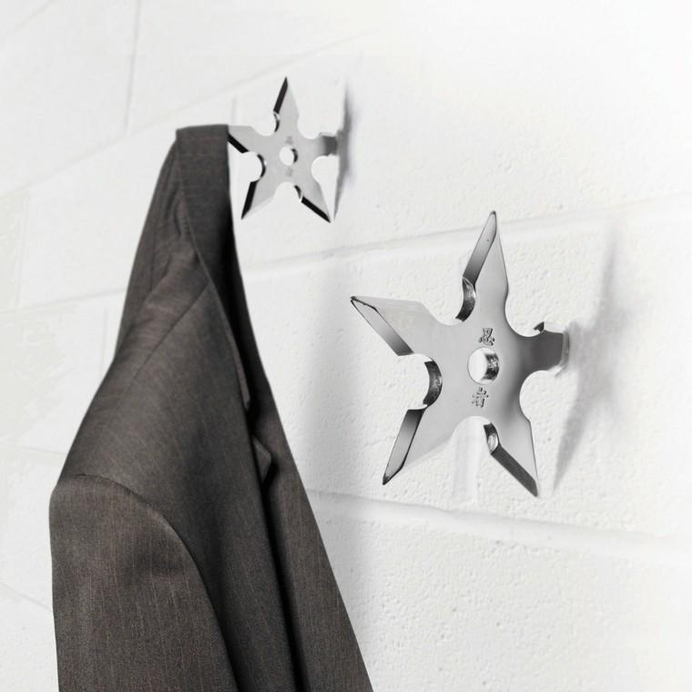Percheros originales funcionales y decorativos - 38 modelos