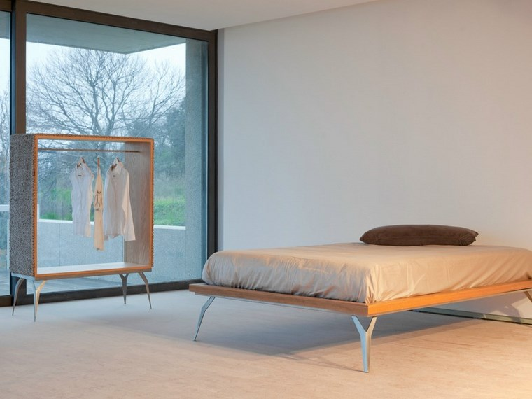 percheros originales materiales increibles dormitorio ideas