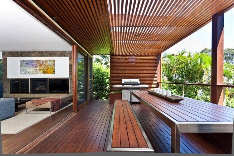 madera teca estructuras terraza