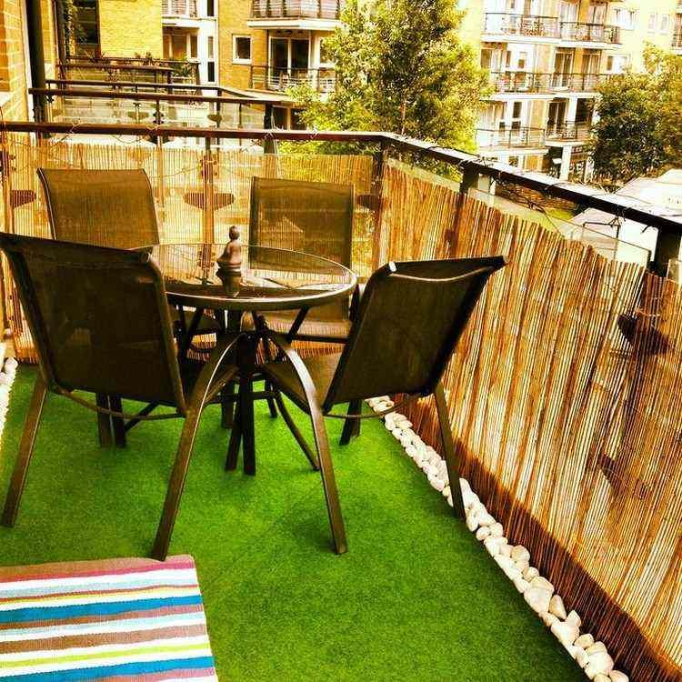 balcones terrazas pequeñas barandillas