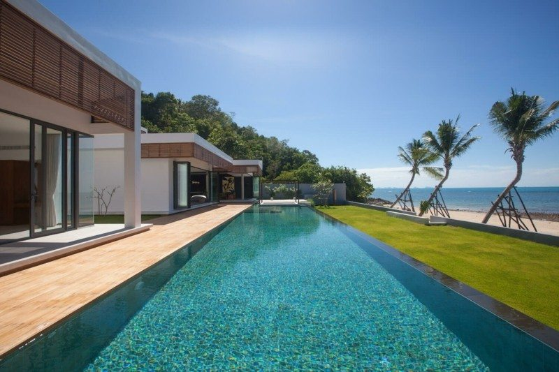 piscina diseño moderno resort lujoso