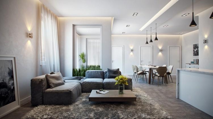 plantas interiores decorado lamparas alfombras