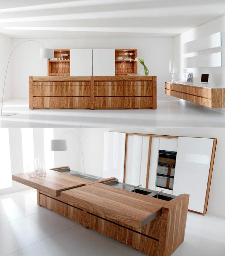 plantas madera variantes diseños led blanco