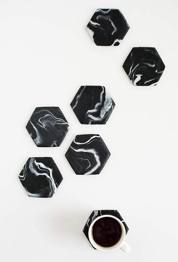 posavasos azulejos viejos dwco negros