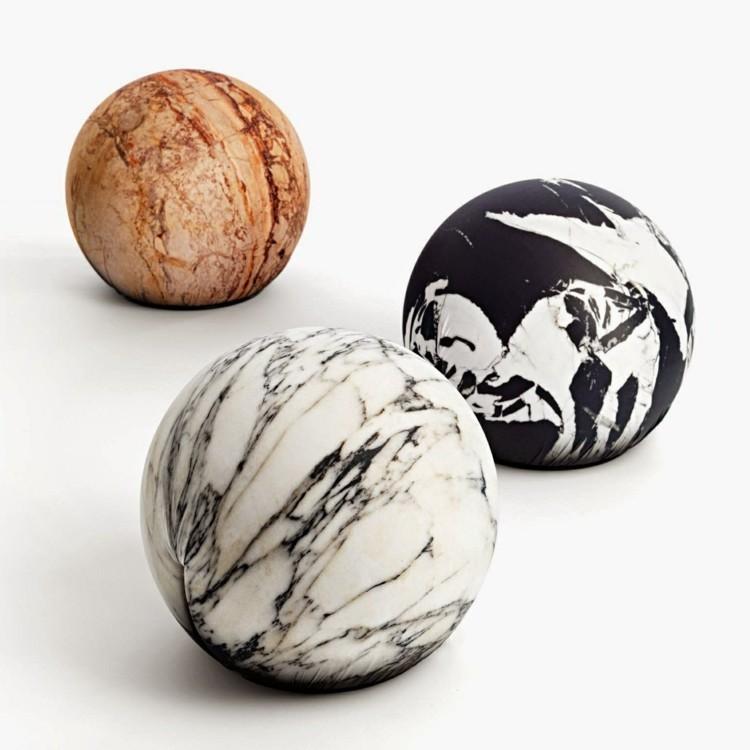redondeado marmol esferas moderno reondeados