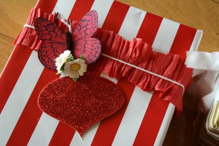 regalo original listas corazones rayas
