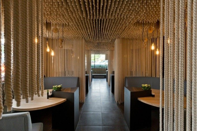 restaurantes techos calido ideas estilos