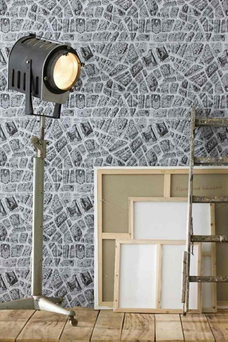 rocas paredes decorado crema faros