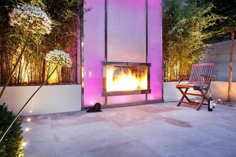 rosa paredes sillas madera ideas