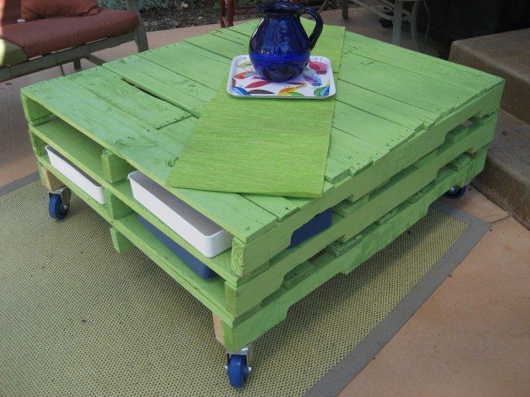 ruedas soluciones verde exteriores azules