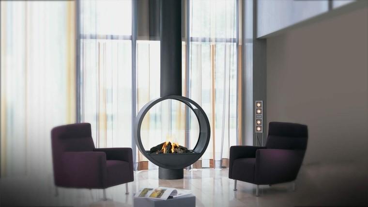 Chimeneas de bioetanol para interiores modernos - Chimeneas star ...