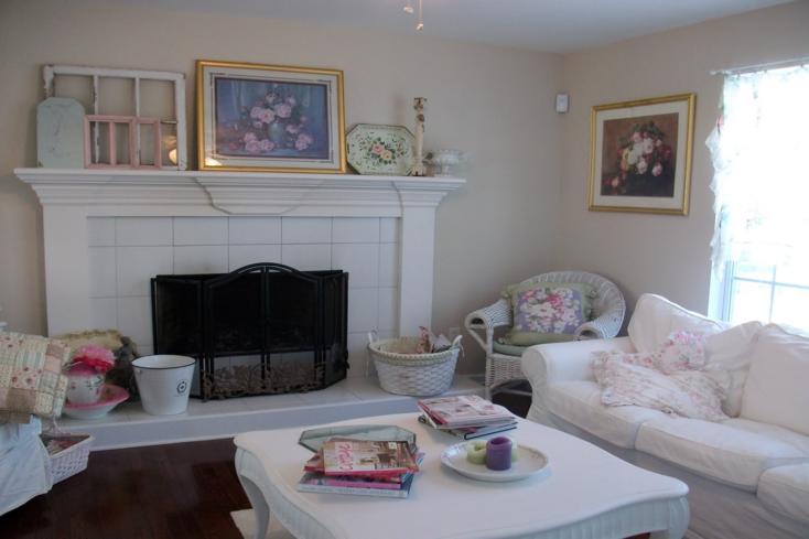 sala de estar muebles blancos
