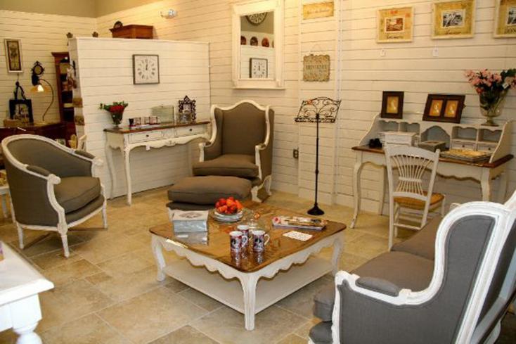 Sala De Estar Estilo Vintage ~ sala de estar con sillones estilo retro