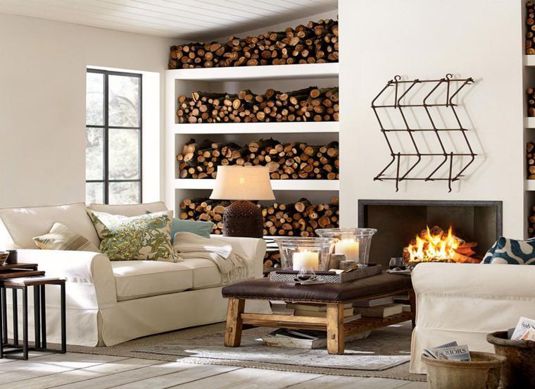 decoracion de interiores chimeneas rusticas: de las chimeneas rusticas y su aparición en salas de estar y salones